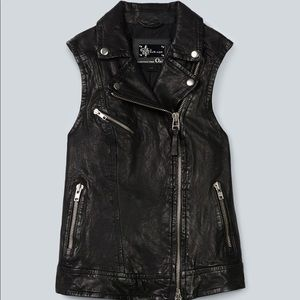 MACKAGE (for Aritzia) Frederica Leather Vest